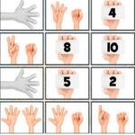 Comptez les doigts et mémorisez