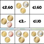 Compter les pièces en euros