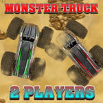 Course Monster Trucks 2 Joueurs