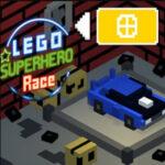 Course des super-héros Lego