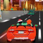 Course de voitures de Noël