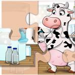 Puzzle d'animaux de ferme
