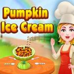 Crème glacée à la citrouille  avec Hazel