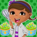 Petits gâteaux Doc McStuffins