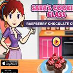 Petits gâteaux au chocolat Le cours de cuisine de Sara