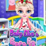 Décorez la chambre d'Elsa avec Peppa Pig