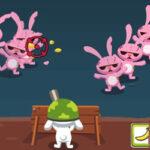 Défense contre les Zombies avec le Lapin