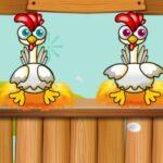 Défi avec les amis: pondre des œufs