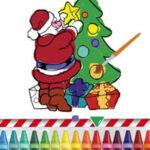 Dessins de Noël à colorier