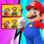 Les 7 différences de Super Mario