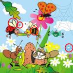 Trouver 10 Différences de printemps