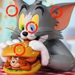 Trouver les Différences: Tom et Jerry