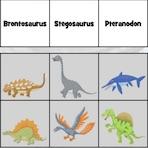 Apprendre les espèces de dinosaures