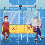 Puzzle de la Distance Sociale