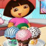 Dora Décor de Gâteau