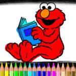 Coloriage d'Elmo