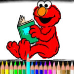 Coloriage Elmo