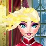 Coupe de cheveux Elsa