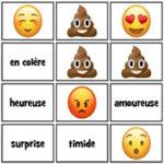 Emotions en Français avec Emojis