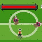 Joueur de football rapide
