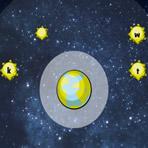 Fast Typing Adventure: Explosion de météorites