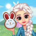 Fête de Pâques: habille et maquille les princesses