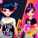 Les filles de Tik Tok contre les filles de Likee
