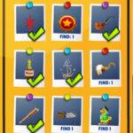 Objets cachés Pirates