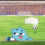 Football avec Gumball