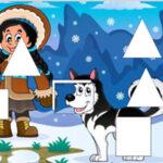 Puzzle Formes d'hiver