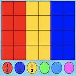 Drapeaux des Fractions Mathématiques