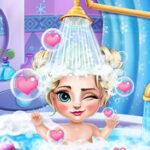 Bain de bébé Frozen