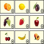 Simon Says de fruits en anglais