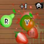 Fruit Slash: Lettres du clavier
