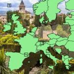 Géographie des pays européens