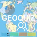 Quiz de Géographie de la carte du monde multijoueur