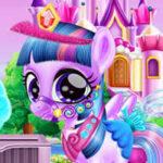 Soins de poney magique