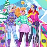 Habiller les princesses de sport en hiver