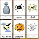 Cartes de vocabulaire d'Halloween