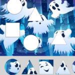 Les Formes Géométriques à Halloween