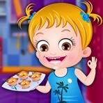 Cuisiner avec Bébé Hazel