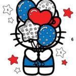Coloriage Magique Hello Kitty