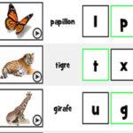 Initiales des noms d'animaux en français