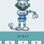 Jeu du Pendu Mathématiques: Additions jusqu'à 10