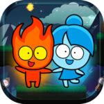 Red Boy y Blue Girl: le labyrinthe de la forêt