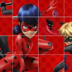 Puzzle Coulissant Ladybug