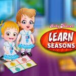 Apprendre les saisons avec Bébé Hazel
