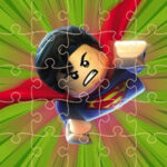 12 Puzzles de Lego Superheroes