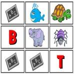 Lettre Initiale des animaux en espagnol