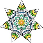 Coloriage de Mandala